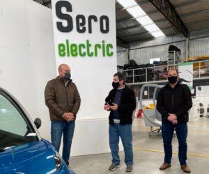 Martiniano Molina visita Seroelectric