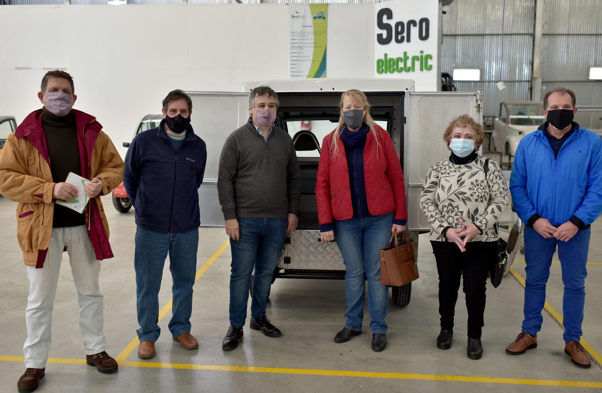 Referentes del partido GEN visitaron instalaciones de la fábrica SERO ELECTRIC
